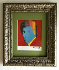 ANDY WARHOL ORIGINAL 1984 SIGNED STEVE WYNN PRINT MATTED 11X14