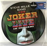 """RSD Steve Miller Band The Joker Live 12"""" Picture Vinyl LP Record Store Day NEU"""
