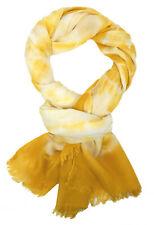 Ella Jonte Schal gelb Batik Ibiza Style weicher Damenschal Baumwolle Viskose