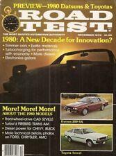 ROAD TEST MAGAZINE 1979 DEC - NEW CARS,ALFA GTV,TURBO TRANS AM,FERRARI USA