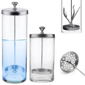 Disinfectant Glass Jar Sterilizer Hair Salons Barber Shops Barbicide Style