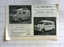 1962 Calthorpe's Coachbuilders Motorised Caravans Feltham Middlesex