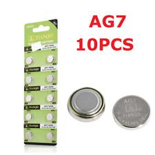 10PCS/Set AG7 LR927 395 SR927 1.5V Alkaline Button Coin Cells Watch Battery New