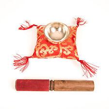 Klangschale (ca. 7 cm) mit Kissen und Stab Zenkoan, ca 125 g, Himalaya