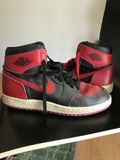 "1985 Air Jordan 1's ""Banned"" SIze 8"
