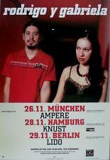 RODRIGO Y GABRIELA - 2007 - Tourplakat - In Concert - Tourposter