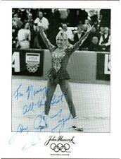 Elaine Zayak, Olympic Figure Skater, Signed Photo, COA, UACC RD 036
