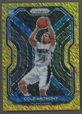 2020-21 Panini Gold Shimmer Prizm #292 Cole Anthony Magic RC Rookie 8/10