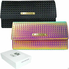 Patent Leather Trifold LYDC Purses & Wallets for Women