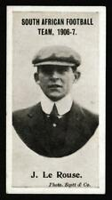 More details for taddy & co - 'south african football team 1906-7' (1906) - card #jrouse - j. ...