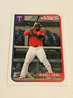 2020 Topps Total Baseball Wave 9 Base Card - Miguel Sano - Minnesota Twins