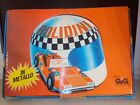 Bolidini 12 Toy Cars Tin and Plastic in Original Box by Gig Made in Italy 1970s
