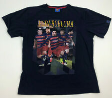 a937306761 BCB FC Barcelona Barca YOUTH Navy BLUE Soccer Futbol TEAM T-Shirt GRAPHIC  16/