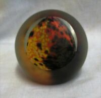 Vintage Signed Mdina Art Glass Earhone Paperweight