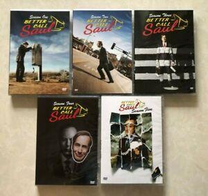 Better Call Saul: The Complete Series Season 1- 5 (DVD, 2021, 15-Disc Set)