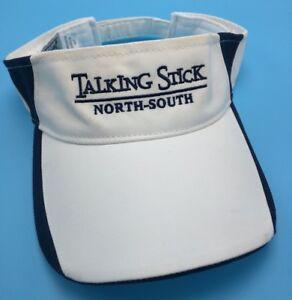 TALKING STICK GOLF CLUB (AZ) white / blue adjustable cap / hat
