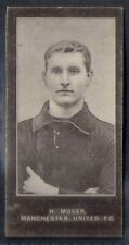 SMITHS-FOOTBALL ERS (CUP TIE BLUE BACK 1909)-#047- MANCHESTER UNITED - MOGER