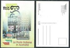 1999 ITALIA CARTOLINA AUSTRALIA 99 MELBOURNE - DA