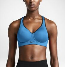Nike Pro Rival Racerback Women's High Support Bra 'Photo Blue' (30B) 620277 435