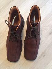 Blogger Grand Step Shoes Gr 39  Boots Shabby Lagenlook Leder Braun Np 269€