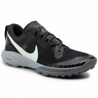 NIKE AIR ZOOM TERRA KIGER 5 - UK 6/US 7/EUR 40 - BLACK/GREY/WHITE (AQ2219-001)