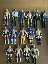 WWE Mattel Elite Battle Pack Wrestling Figure Lot Savage Rock Rollins Reigns