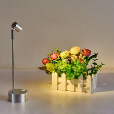 3W LED Pole Light Picture Spotlight Battery-Powered Lamp Button(Height 9.4 inch)