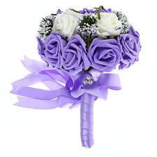 Einzelblume in Lila für Hochzeitsdekorationen