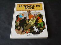 HERGE TINTIN LE TEMPLE DU SOLEIL ALBUM ANIME POP-HOP 1969