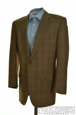 BROOKS BROTHERS Madison Brown Houndstooth Check WOOL CASHMERE Blazer Jacket 42 R