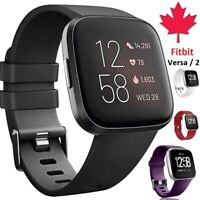 For Fitbit Versa 2 1 Lite Band Replacement Silicone Wristband Strap Wrist Sport