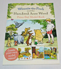 KIDS WINNIE THE POOH HUNDRED ACRE WOOD MODEL ACTIVITY BOOK STOCKING FILLER GIFT