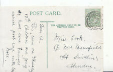 Genealogy Postcard - Cook - St Swithen's - Hendon - Ref 4844A