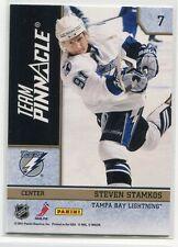 2010-11 Pinnacle Team Pinnacle 7 Henrik Sedin Steven Stamkos