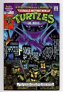 TEENAGE MUTANT NINJA TURTLES the MOVIE ARCHIE COMICS SUMMER 1990 ADAPTATION