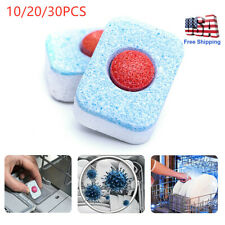 Kitchen Deep Cleaning Washing Dishwasher Tablets  Remover Deodorant Effervescent