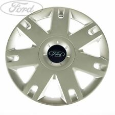 "Genuine Ford Fiesta Fusion 15"" Inch Wheel Trim Silver Single 1320901"