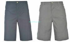 Cotton Patternless Flat Front Shorts for Men