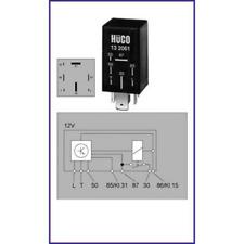 Relais Glühanlage - Hüco 132061