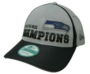 Seattle Seahawks New Era 9FORTY NFC Conference Champions Adjustable NFL Hat