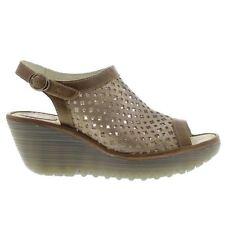 FLY London Mid Heel (1.5-3 in.) Slides Sandals for Women