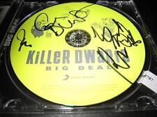 KiLLeR DWaRfS Big Deal Russ Darrell Gerry Johnny Rock metal auto CD © 2012 w/COA