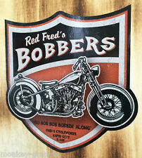 Rockabilly Oldschool Sticker Bobber Biker / Chopper Harley Motorrad Aufkleber US