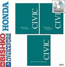 2003 2004 Honda Civic Shop Service Repair Manual CD Engine Drivetrain Electrical