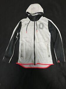 Ohio State Nike Zip-Up Hooded Sweatshirt Small