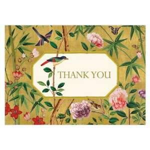 Caspari Thank You Notes, Chinese Wallpaper, Pack of 8 (86605.48)