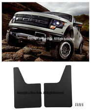 For 10-14 Ford F150 SVT Raptor Front Conversion Mud Flaps Splash Guard Body Kit