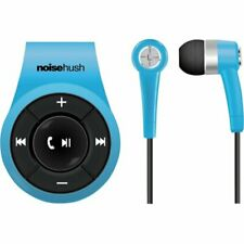 NEW NOISEHUSH NS560 BLUE CLIP-ON BLUETOOTH WIRELESS HEADSET-In-Ear Only