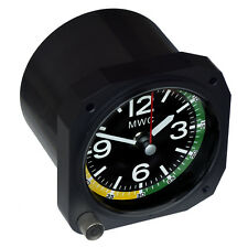 Limited Edition Replica Aircraft Airspeed Indicator Clock Ideal for a Desktop