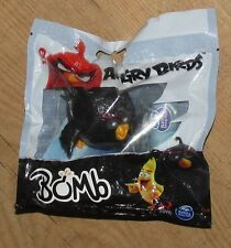 Rovio Angry Birds Bomb Figure by Spin Master Black new in sealed bag 5cm